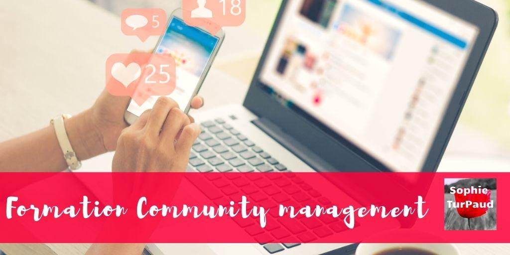 Formation community management via @sophieturpaud