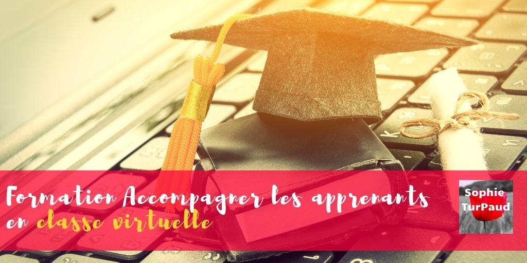 Formation Accompagner les apprenants en classe virtuelle via @sophieturpaud
