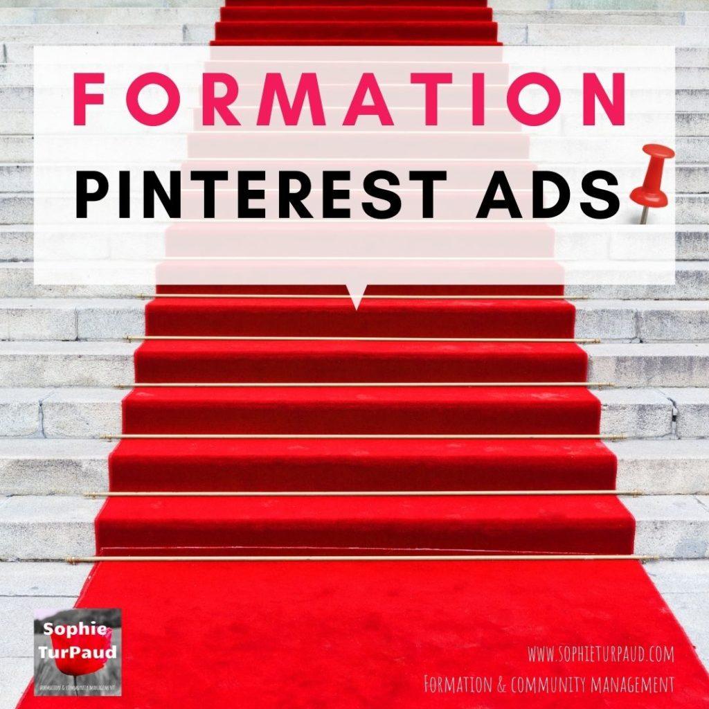 Formation Pinterest Ads via @sophieturpaud