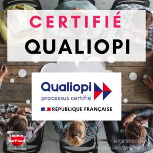 Certifié Qualiopi via @sophieturpaud