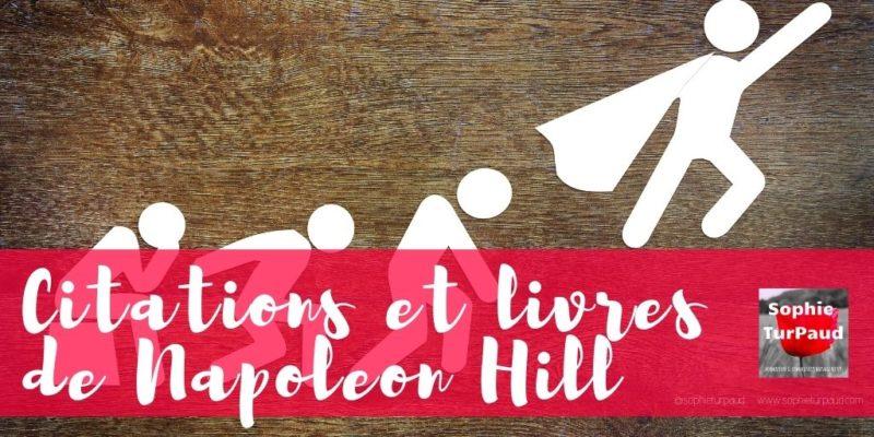 Citations et livres de Napoleon Hill